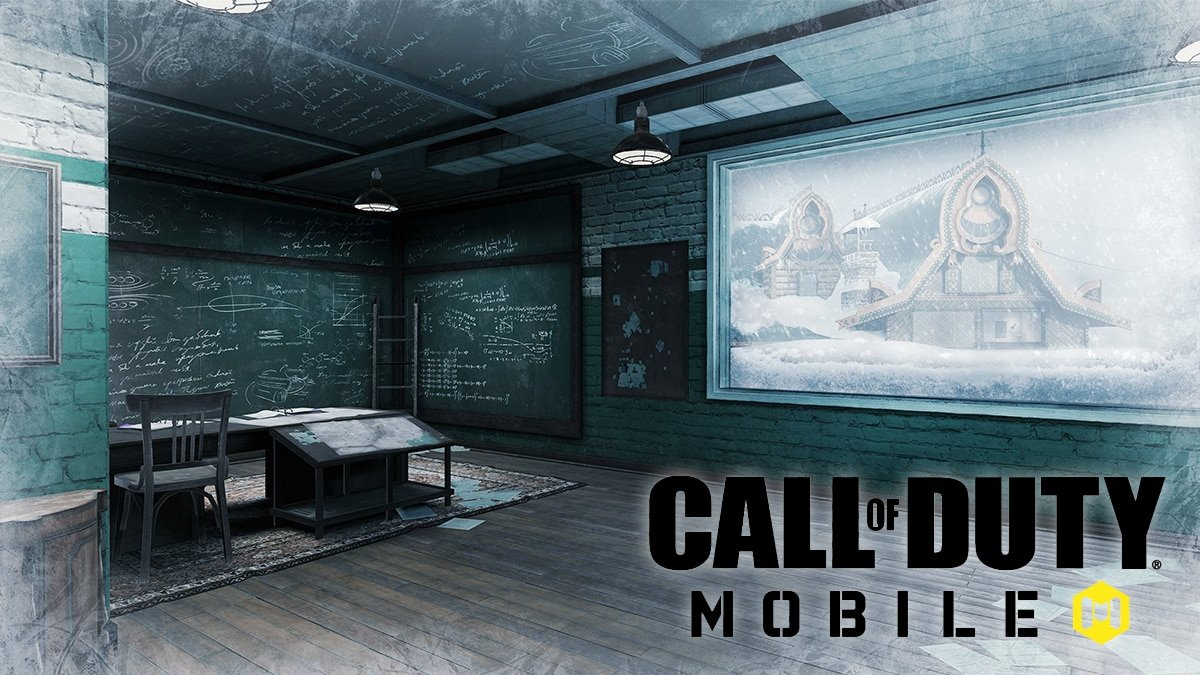 CoD Mobile's Nuketown map teaser.