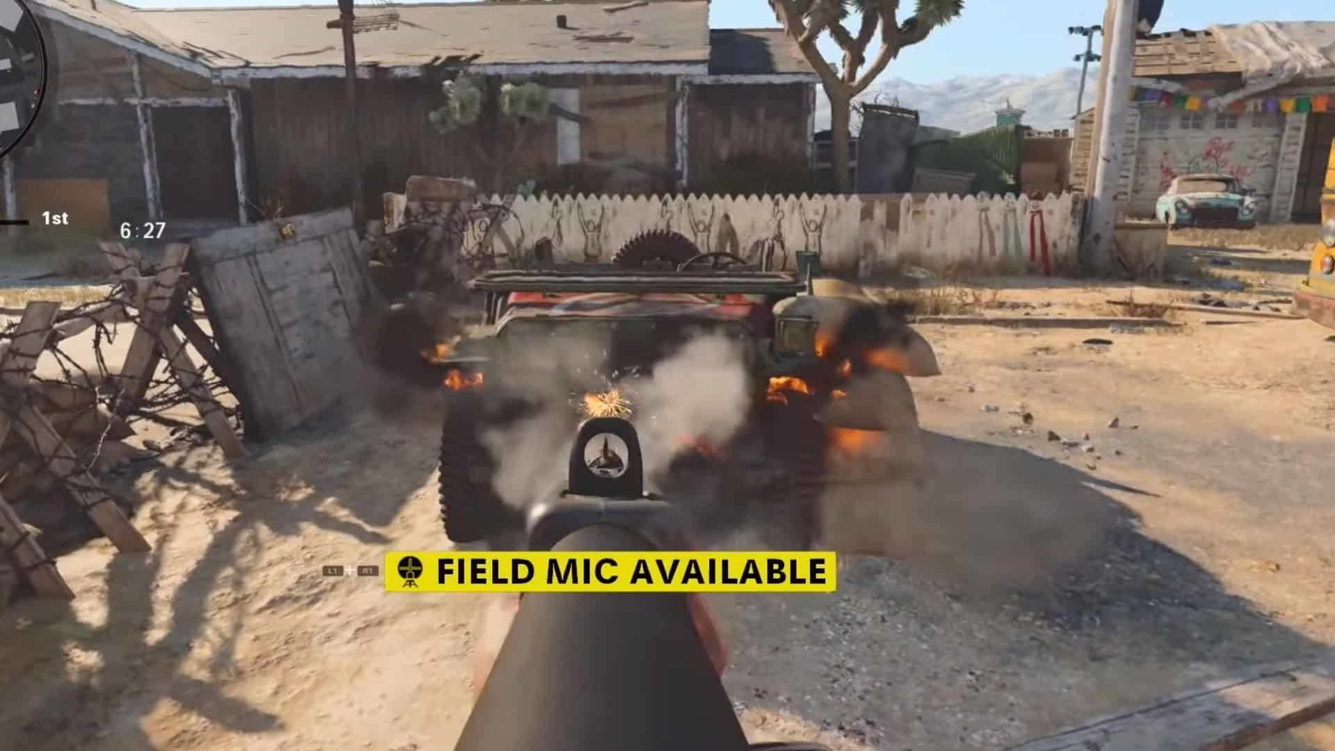 the jeep in nuketown 84 in bocw