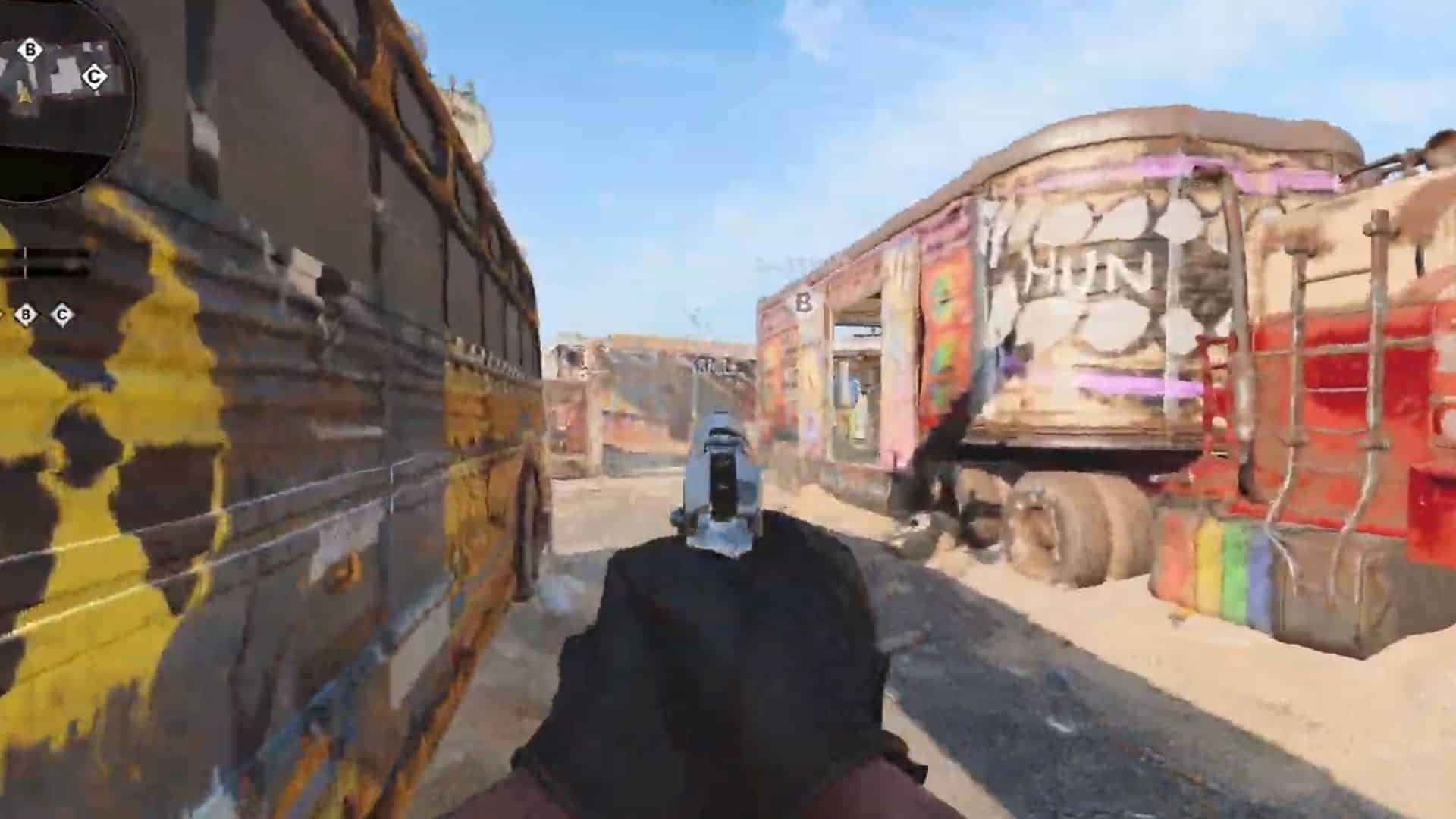 the middle of nuketown 84 in bocw