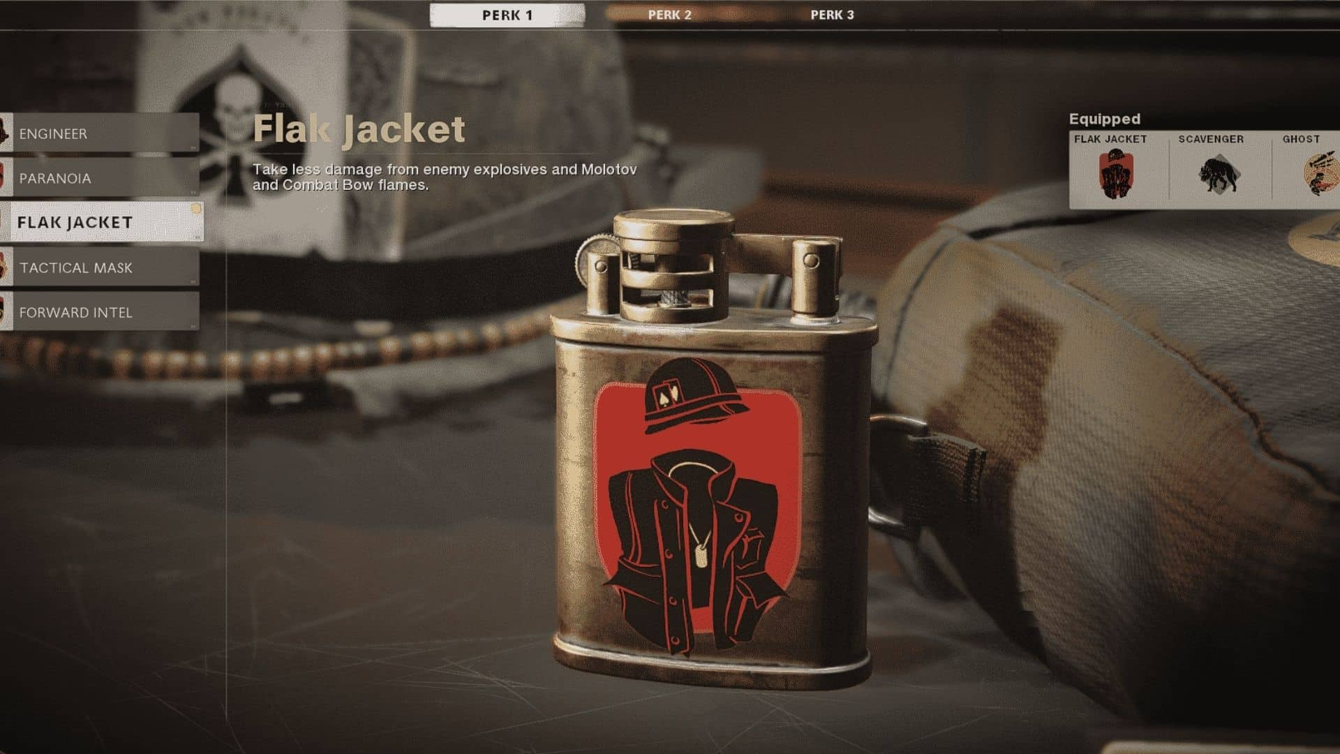 flak jacket perk in black ops cold war