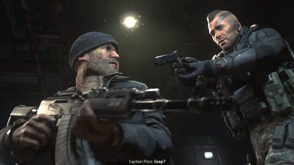 soap rescues captain price in modern warfare 2