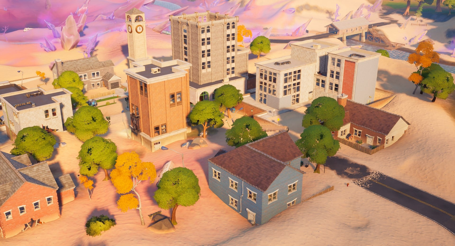 Salty Towers in Fortnite Season 5.