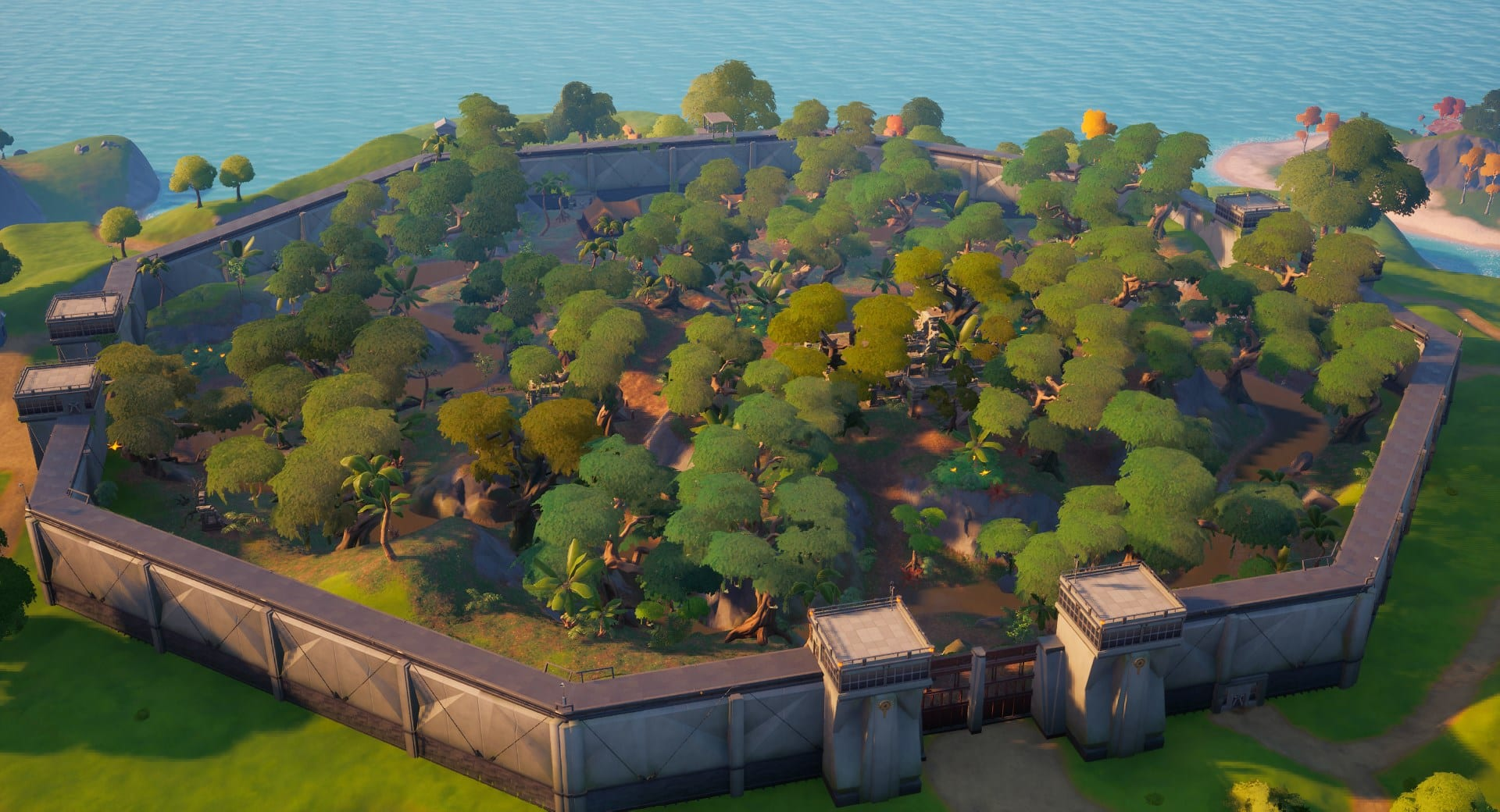 Stealthy Stronghold in Fortnite Season 5.
