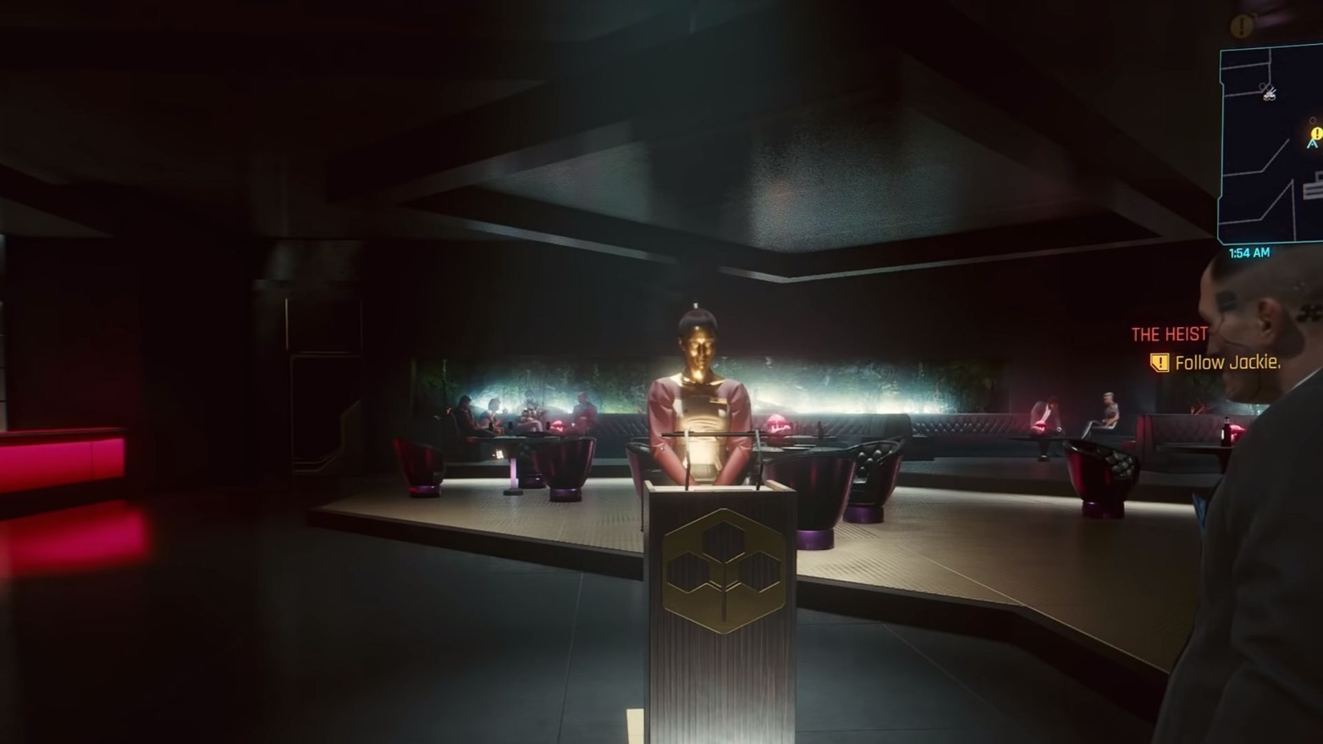 the heist mission in cyberpunk 2077