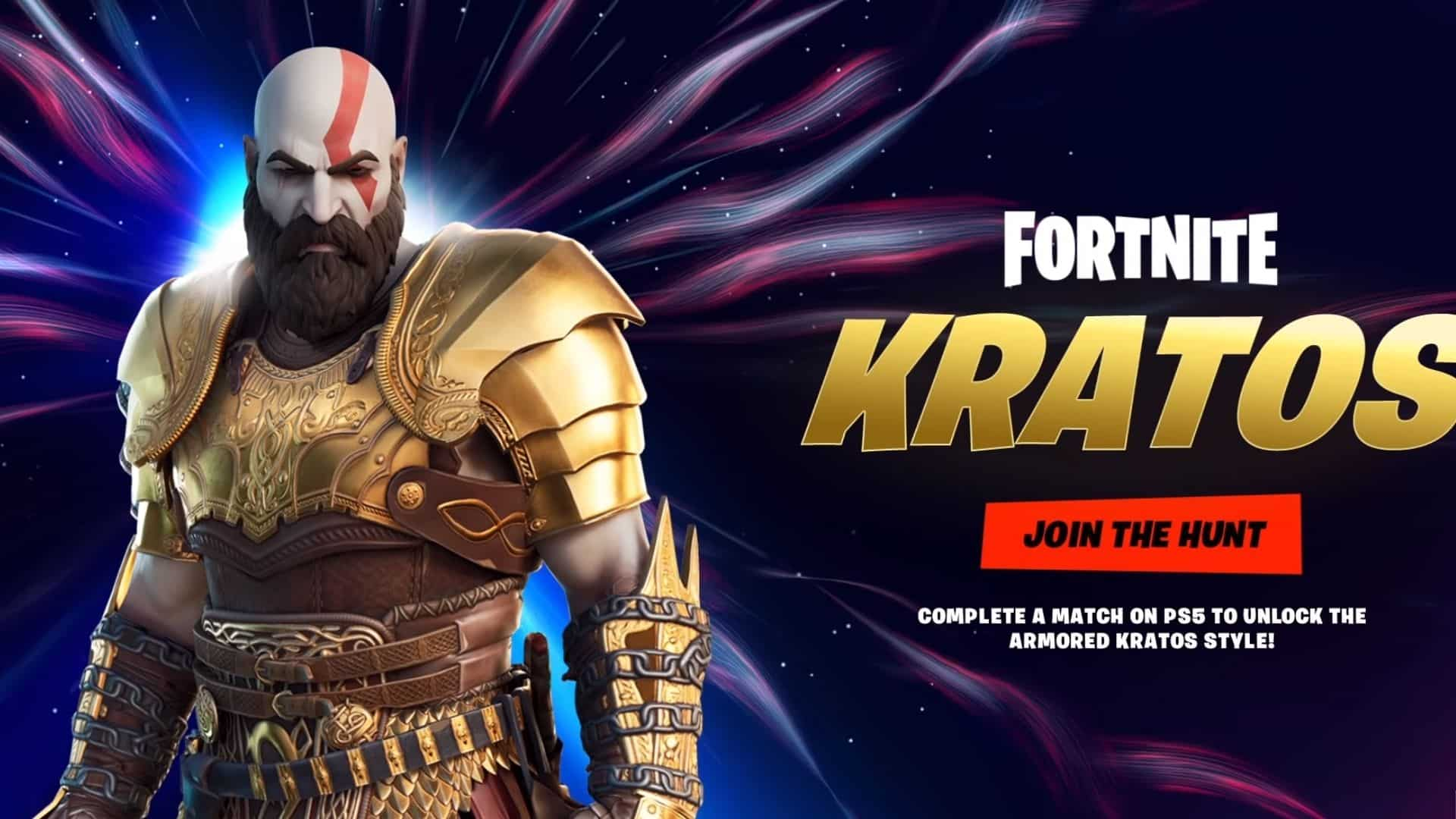 kratos ps5 skin in fortnite