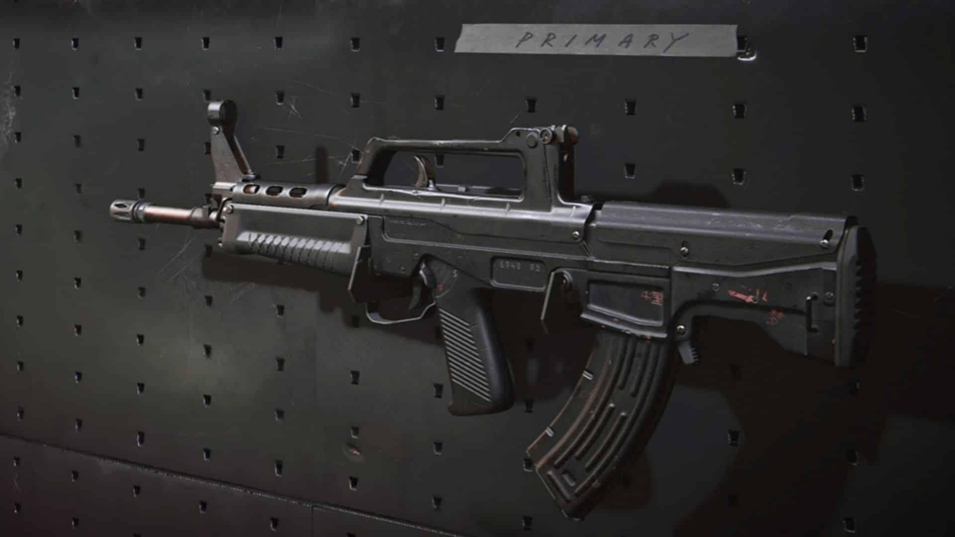 The QBZ in Black Ops Cold War
