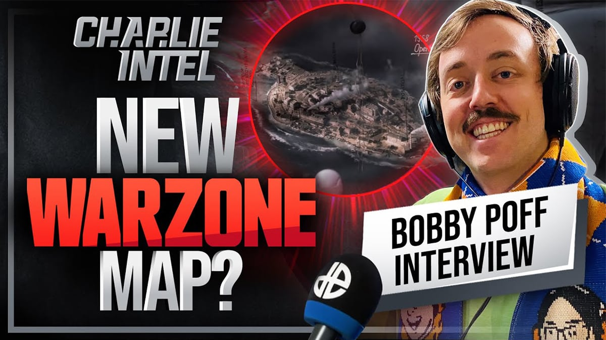 Bobby Poff and new Warzone map.