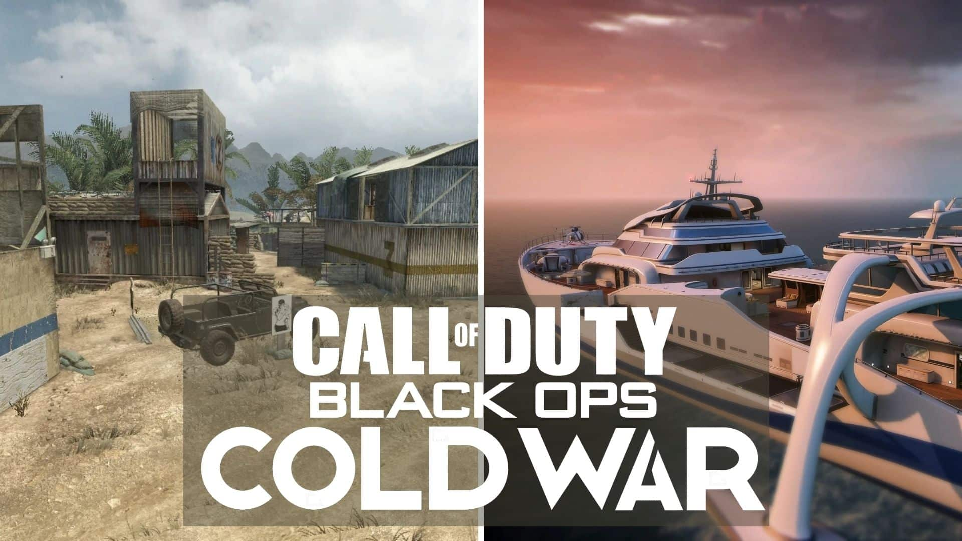 firing range and hijacked in cod bocw