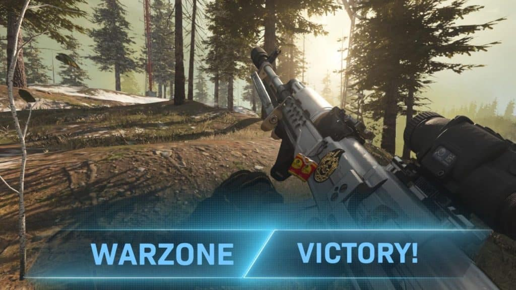warzone victory in cod warzone