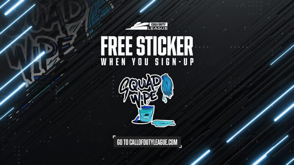 Call of Duty League - Free Sticker
