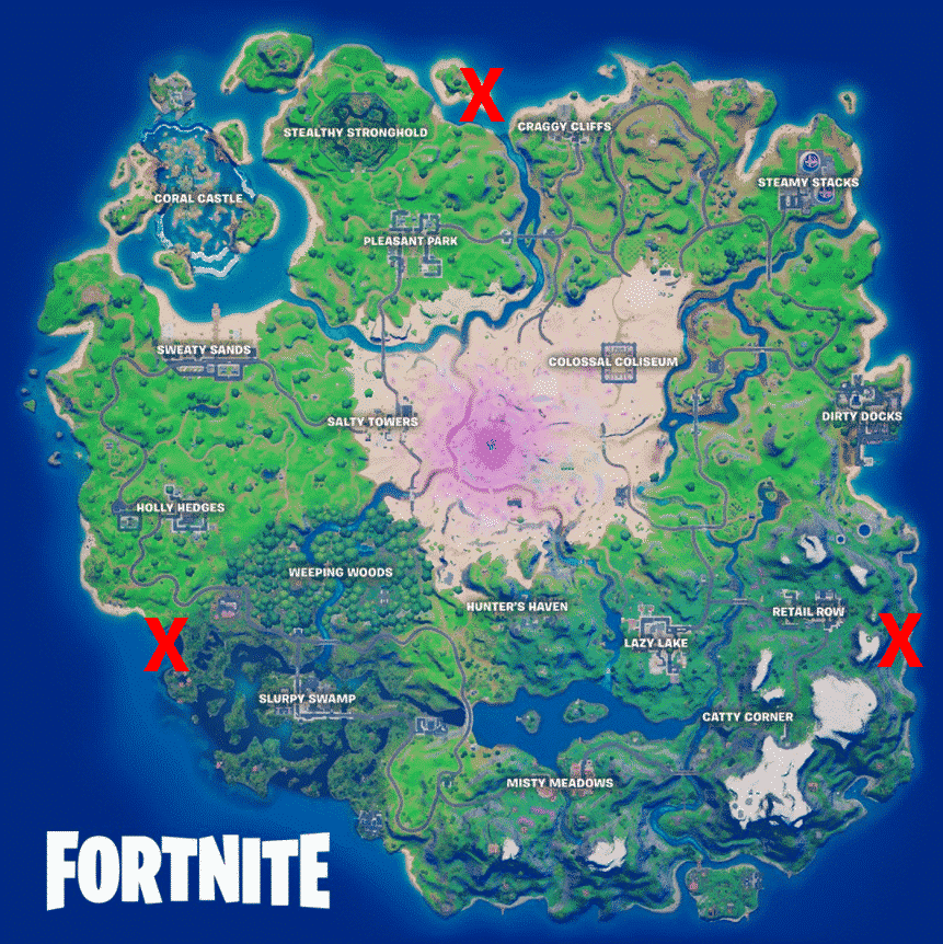 Fortnite bunker locations