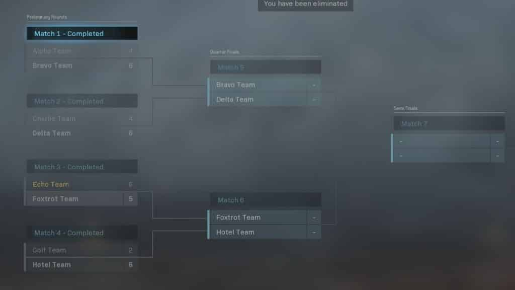 gunfight tournament in call of duty