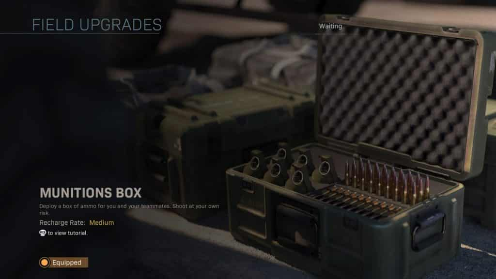 munitions box in cod warzone