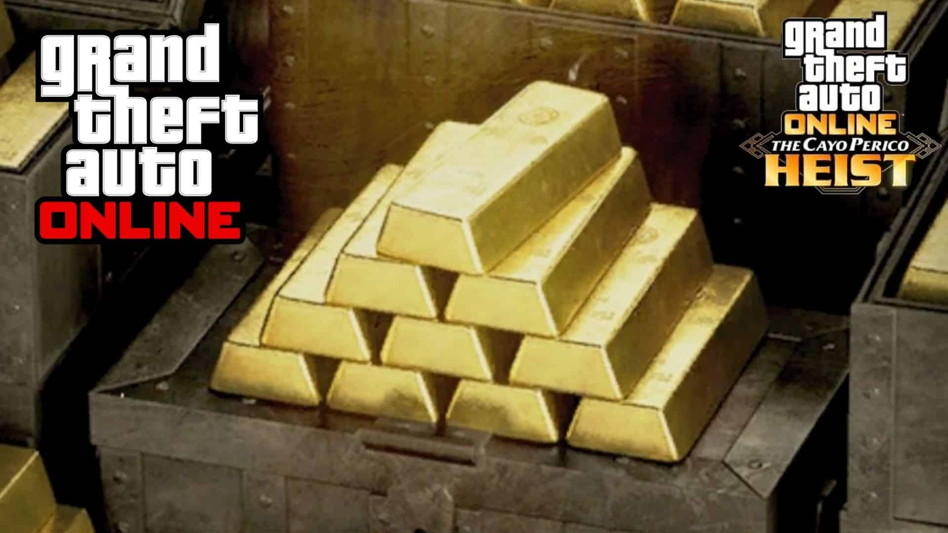 gold abrs in gta online cayo perico