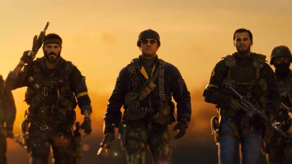 adler, woods, and crew in cod bocw