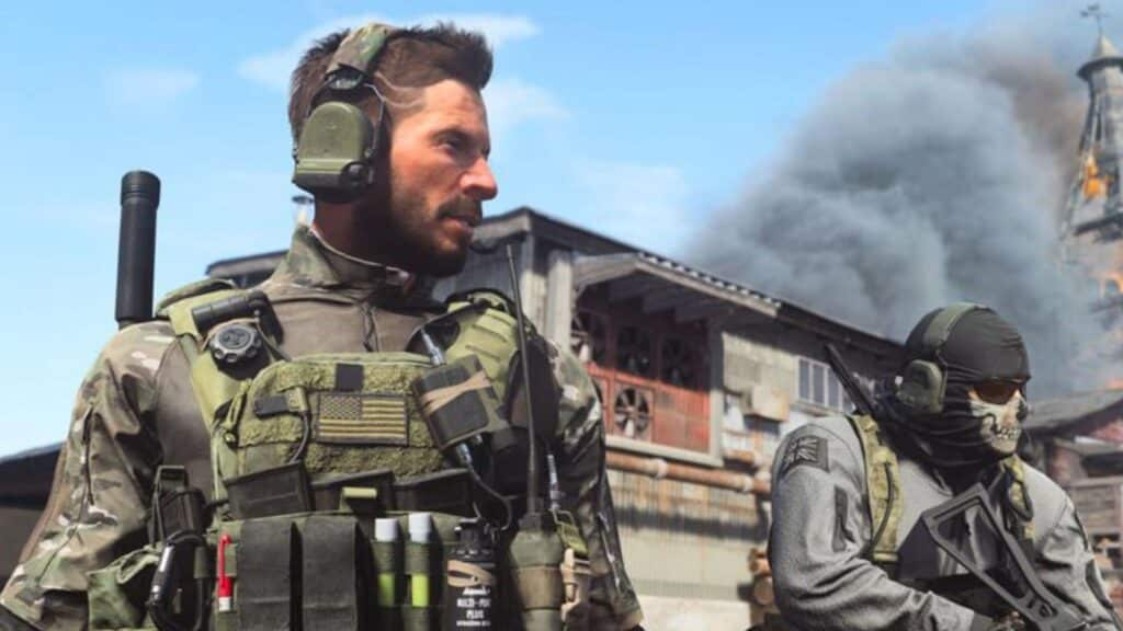 ghost and operators in cod modern warfare
