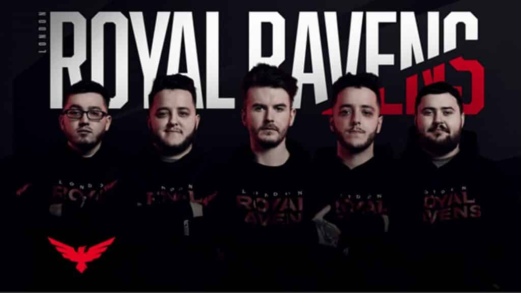 London Royal Ravens COD esports team