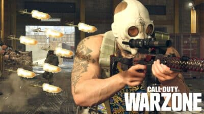 cod warzone operator being shot at