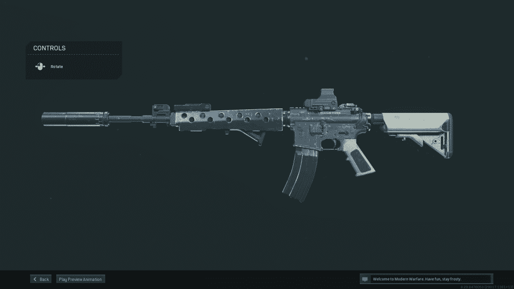 Warzone M4A1