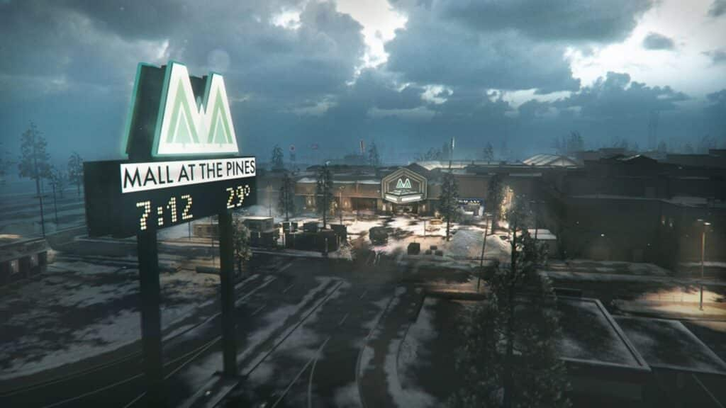cod bocw the pines map