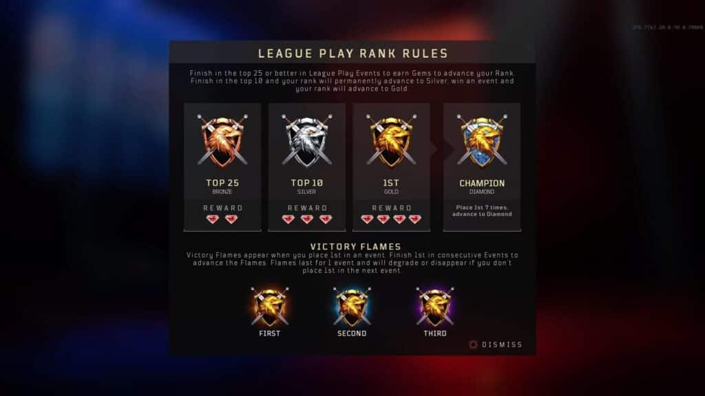 league play in call of duty multiplayer