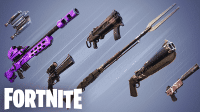 New Weapons Attachment system in Fortnite