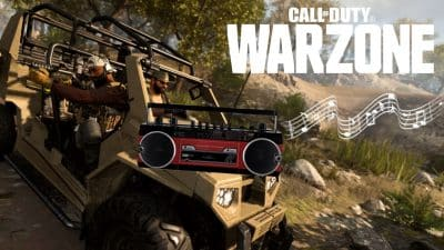 cod warzone vehicle boombox music