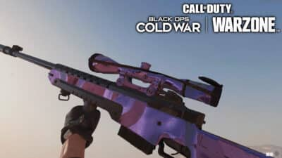 A Sniper Rifle with Dark Matter in Black Ops Cold War