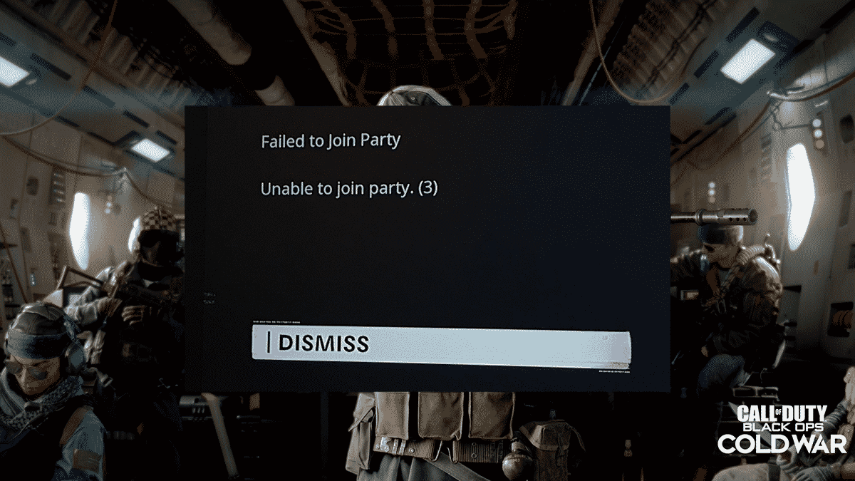 unable to join game session black ops 2 zombies