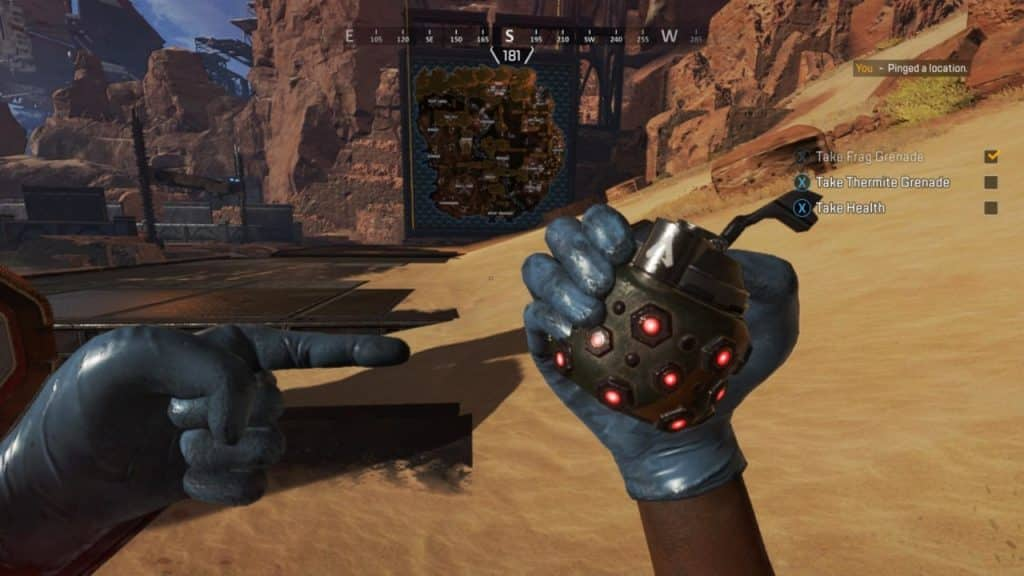 Grenades in Apex Legends