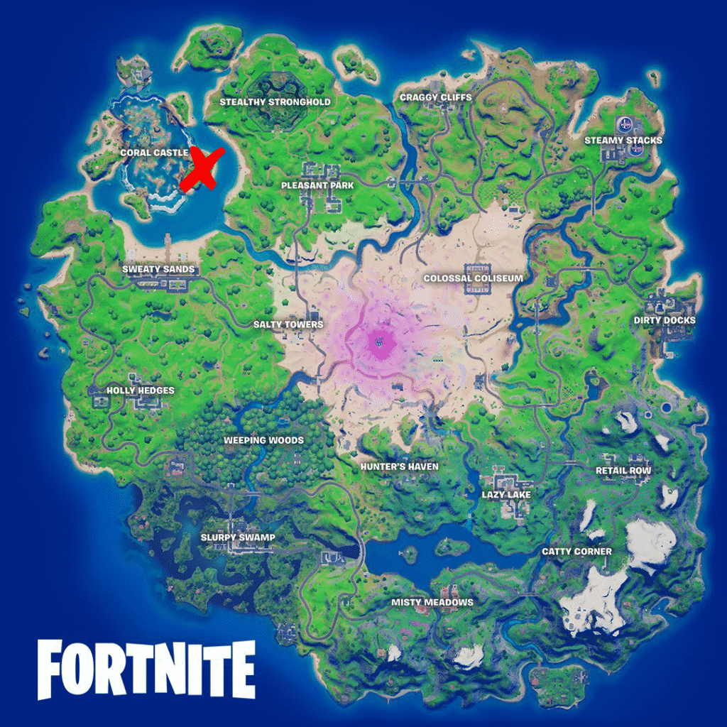 Black box location in Fortnite Season 5