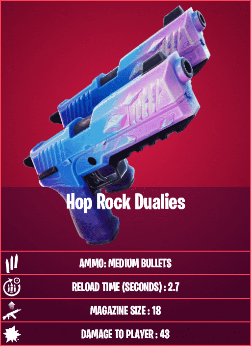 Hop Rock Dualies in Fortnite Season 5