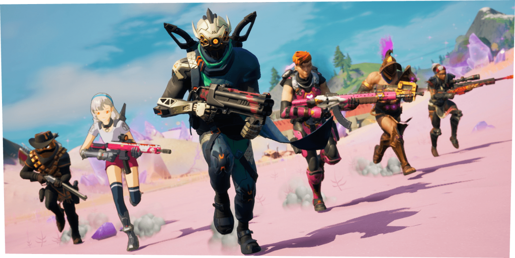 Fortnite Season 5 weapons