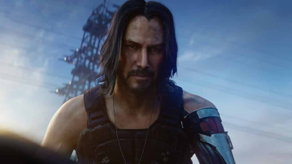 Johnny Silverhand in Cyberpunk 2077