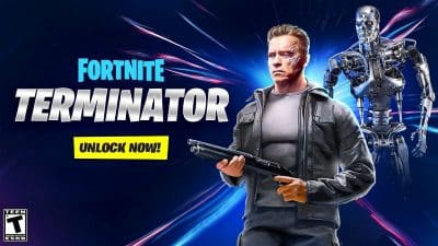 Terminator set in Fortnite