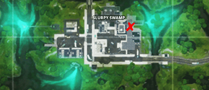 Fortnite Slurp Barrel Locations at Slurpy Swamp
