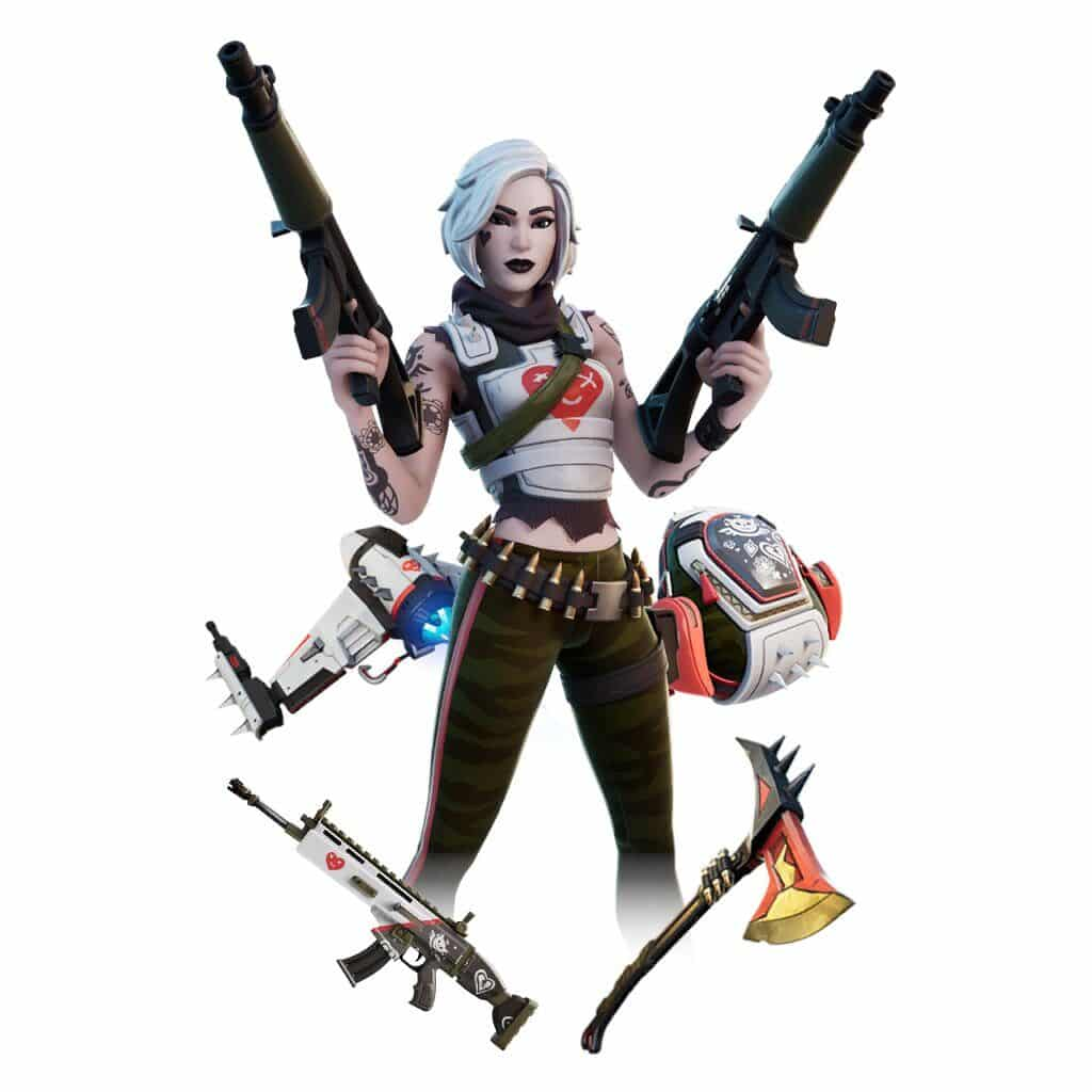 Tessa bundle in Fortnite