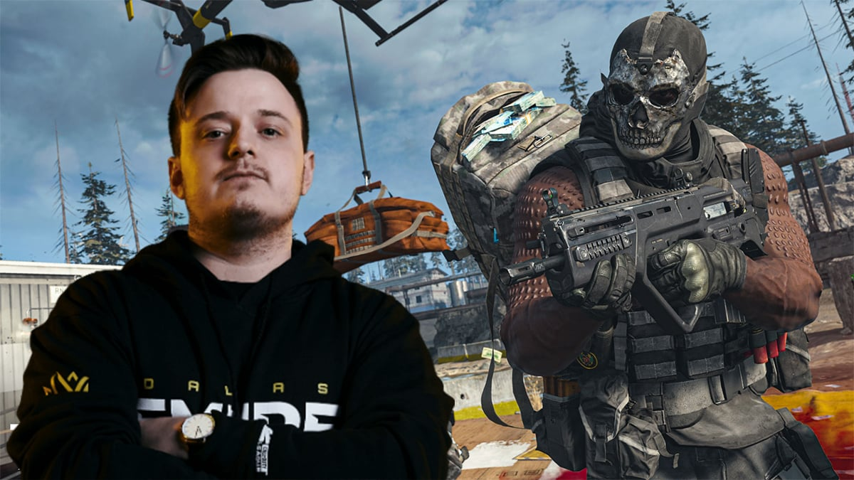 Tommey and Warzone player