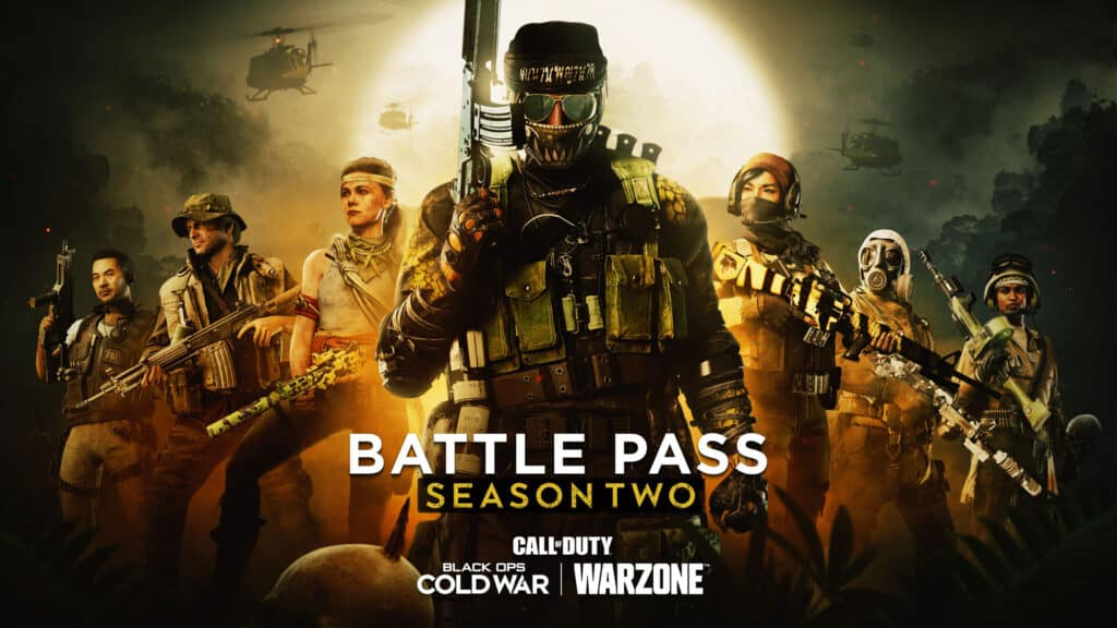 Black Ops Cold War & Warzone Season 2 Battle Pass