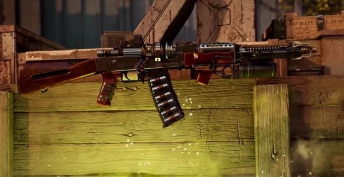 The RAI K-84 in Black Ops Cold War