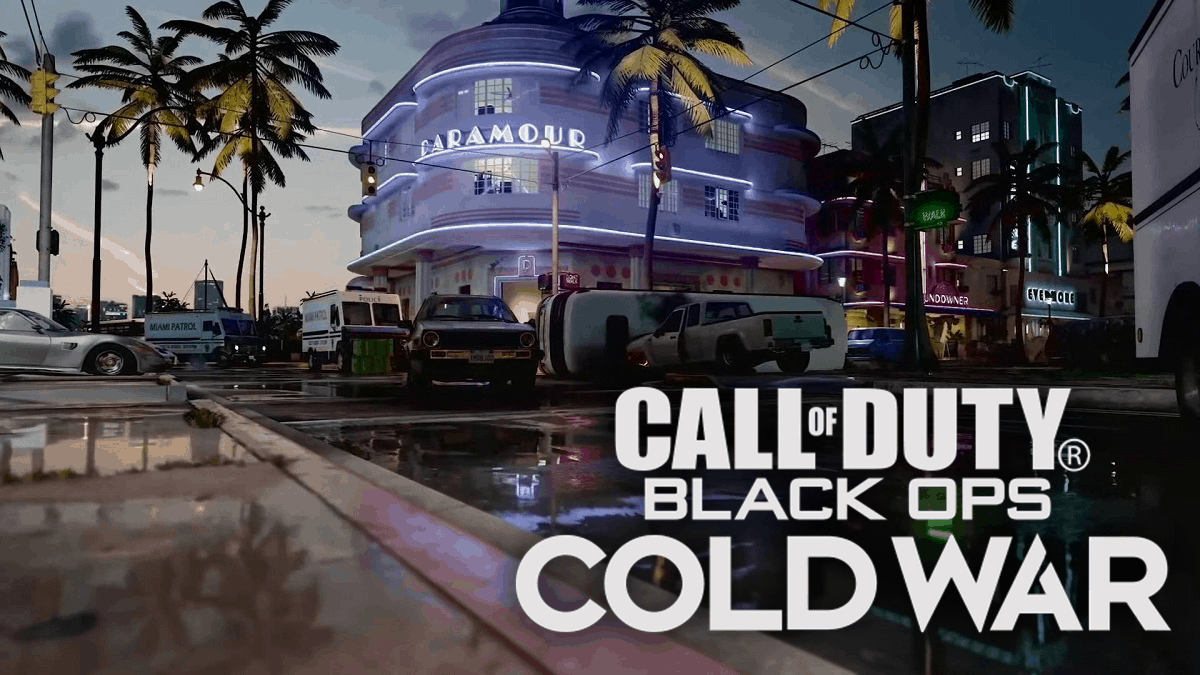 Daytime Miami in Black Ops Cold War