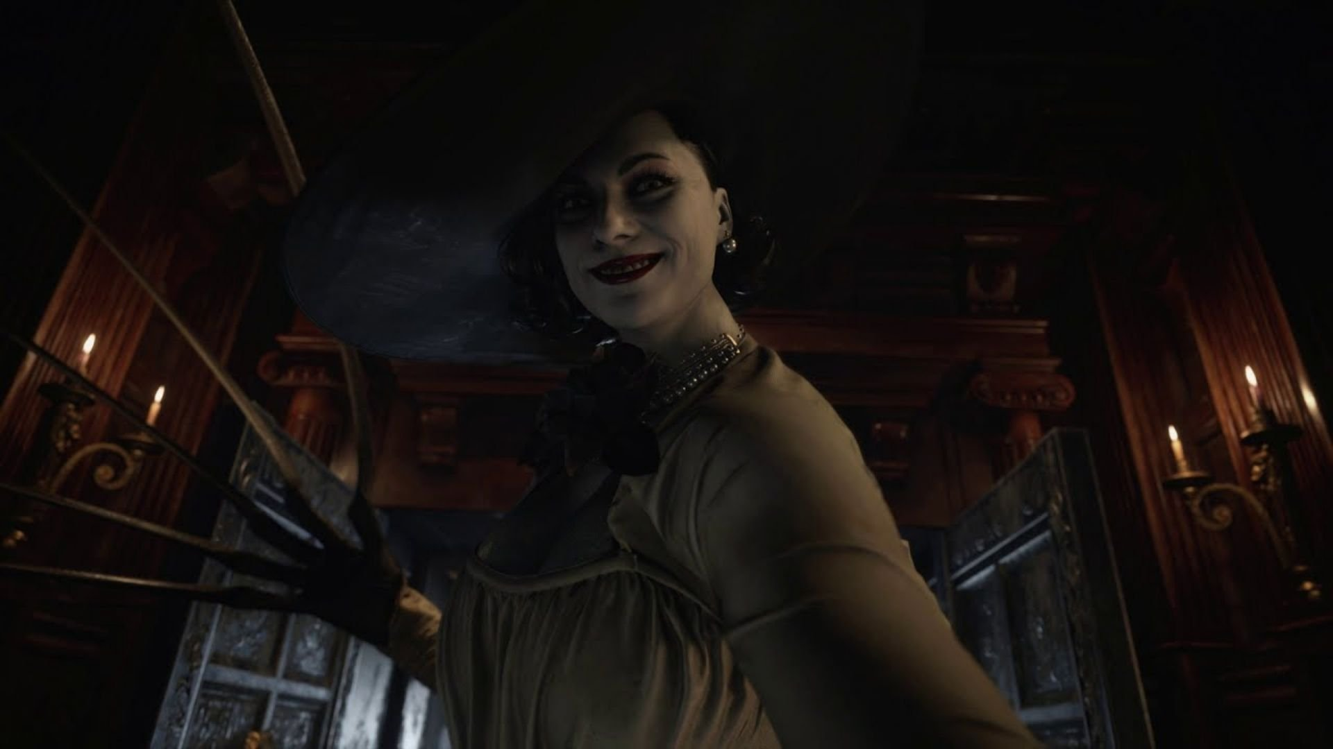 Lady Dimitrescu's height in Resident Evil Village finally ...