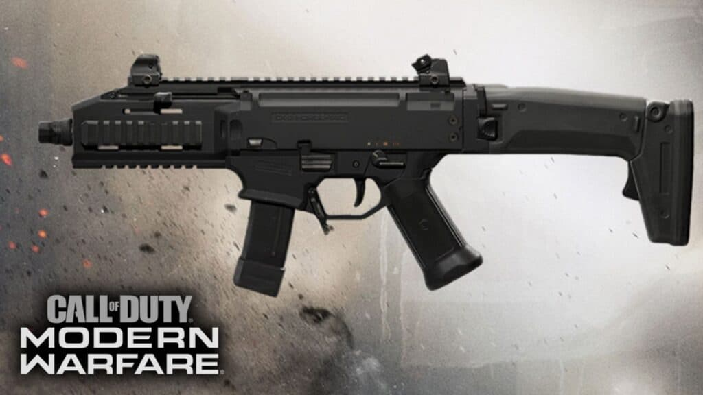 cx-9 smg in cod modern warfare