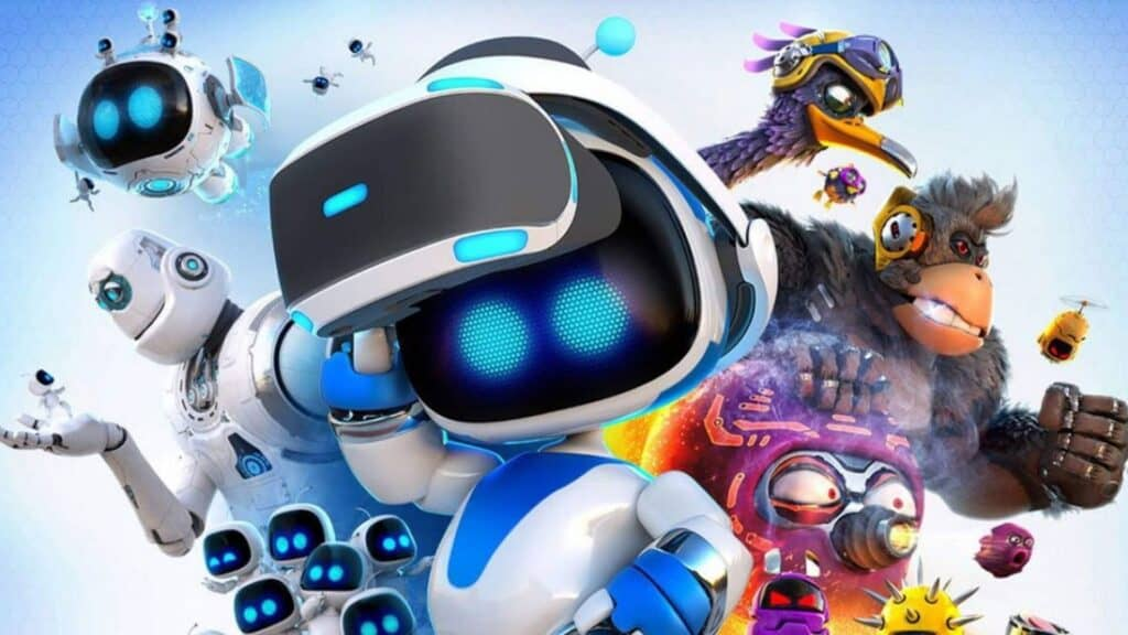 astro bot ps vr