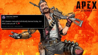 Apex Legends bans cheaters in ban wave