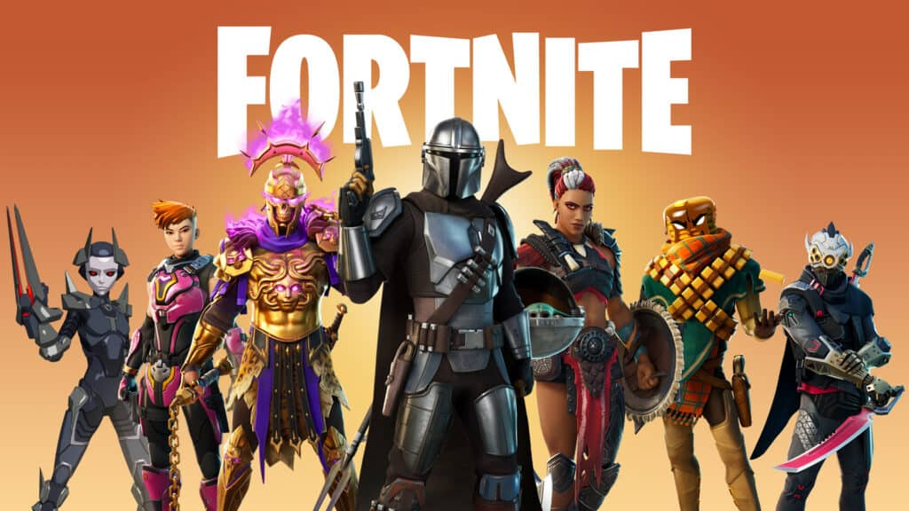 Fortnite x Star Wars season 6 promotional material