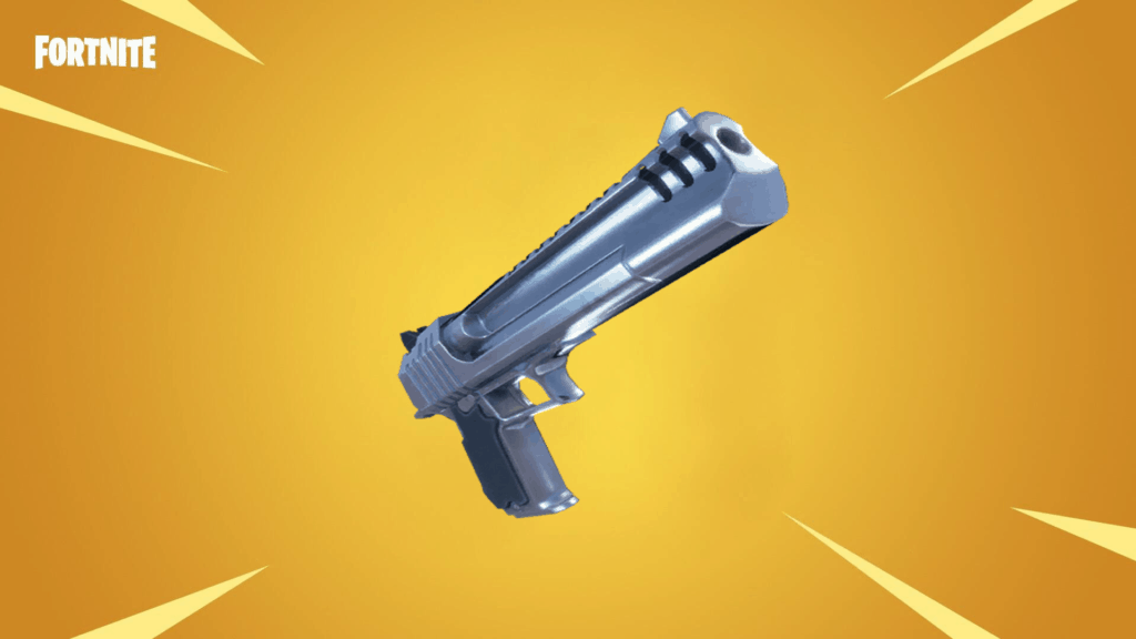 Hand Cannon from Fortnite Season 5