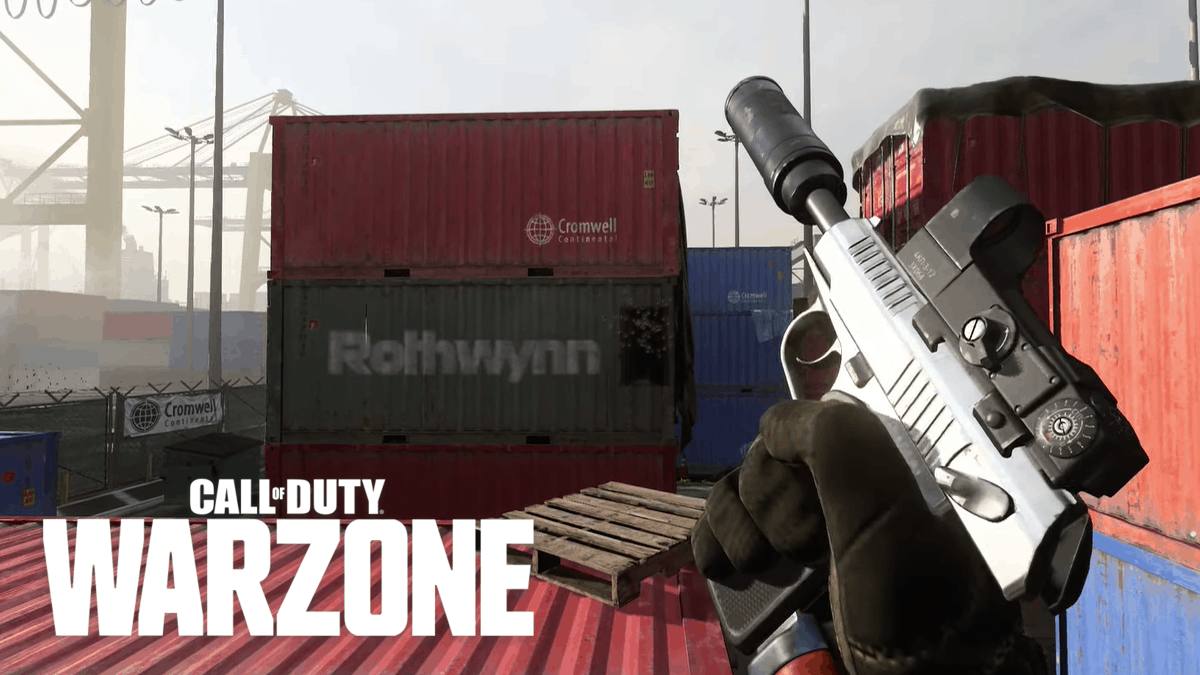 sykov pistol in warzone and modern warfare