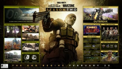 Black Ops Cold War and Warzone Season 2