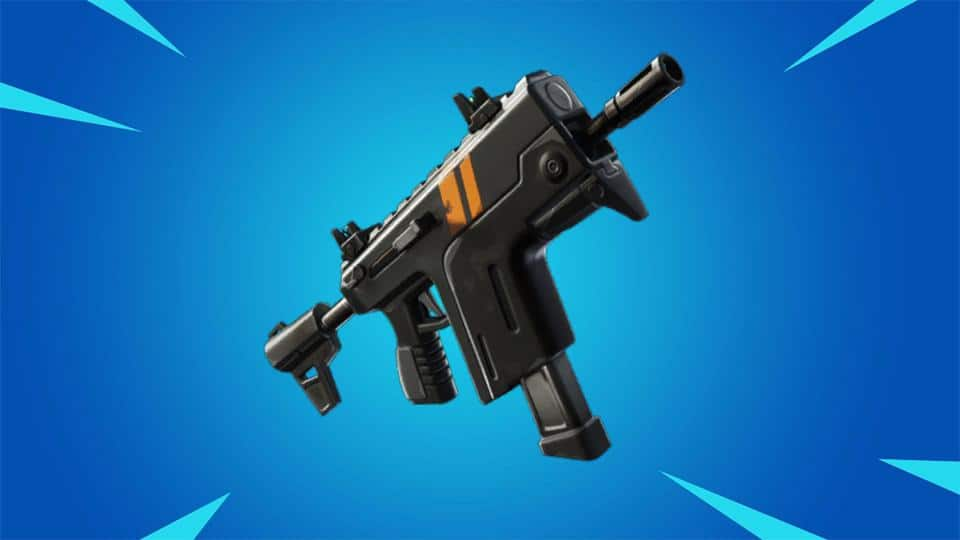 Fortnite's Rapid Fire SMG